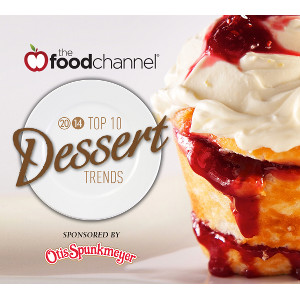 The FoodChannel Top 10 Dessert Trends 2014