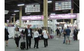SupplySide West 2015 trade show floor