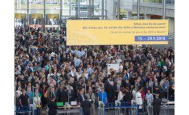 iba 2015 trade show floor