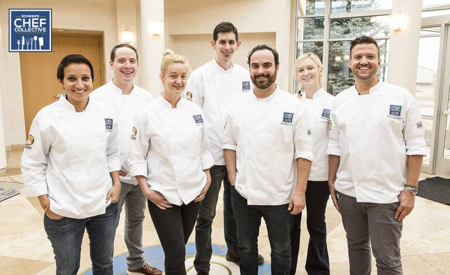 Schwan's Chef Collective members