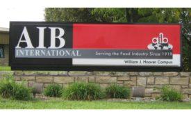 AIB International Sign