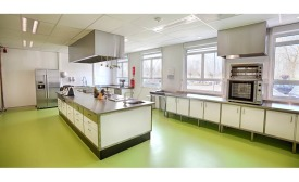 Corbion test lab in Gorinchem, Netherlands
