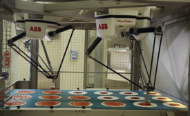 ABB's FlexPicker robots make pizza for Prodal