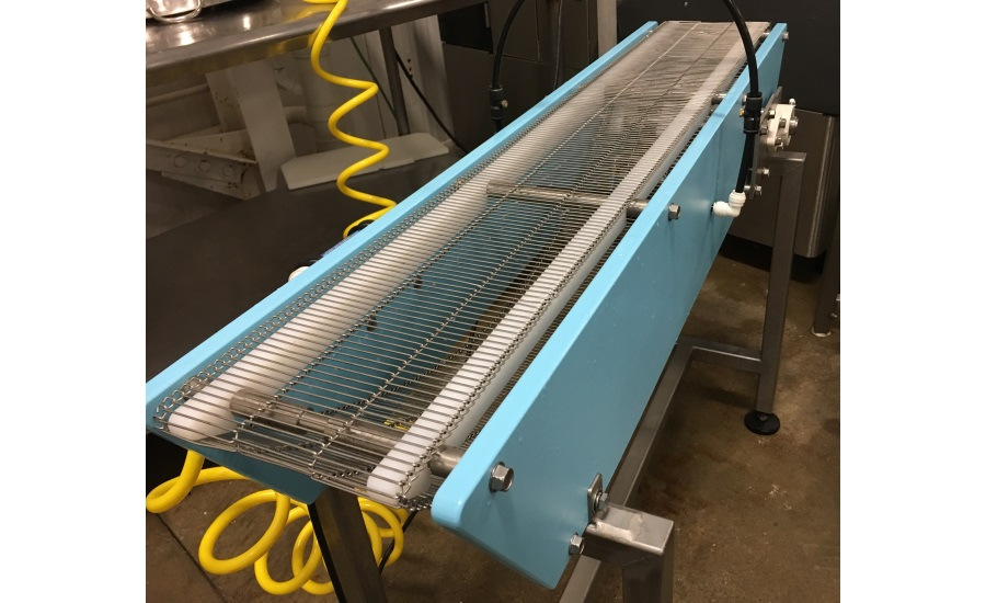 Metal Belt Option For Conveyors 2016 08 01 Snack And