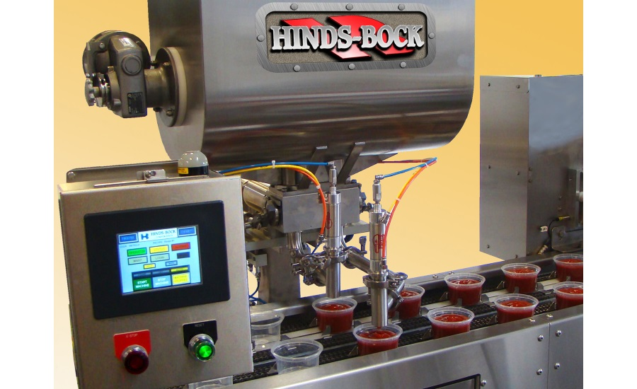 Hinds-Bock cup and tray filling equipment