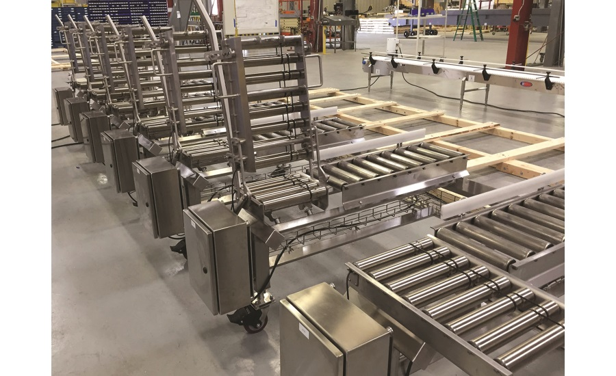 Multi-Conveyor MDR (motor driven roller) conveyor