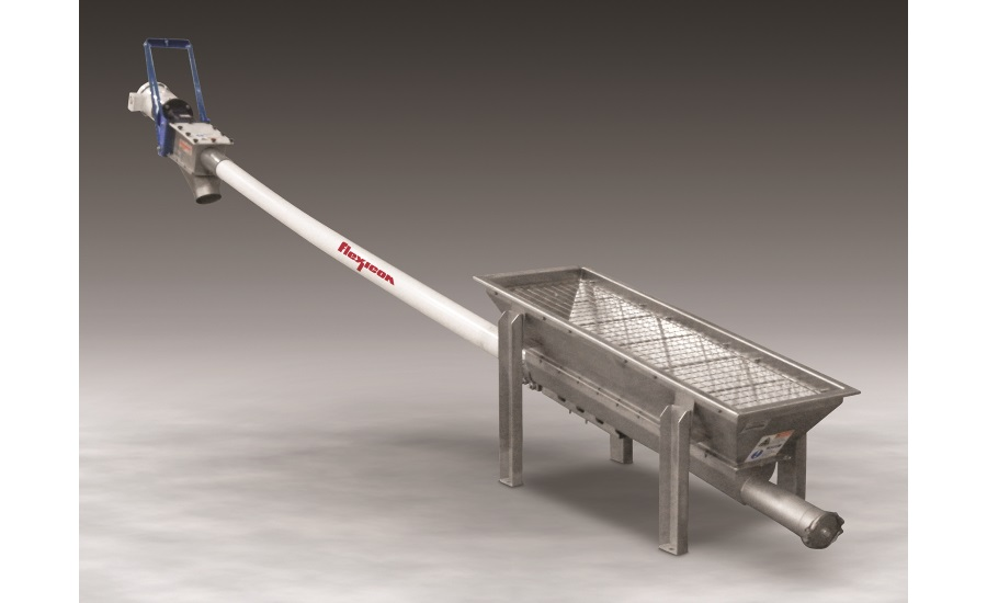Flexicon flexible screw conveyor