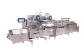 Bosch Biscuit on Pile packaging system