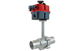 HANTEMP Controls CBV controlled ball valves