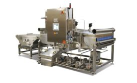 Amherst Stainless Fabrication spraying system