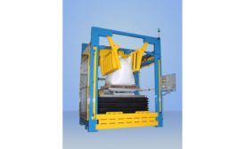 Material Master bulk bag conditioning system