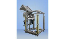 Material Transfer side load hydraulic lift