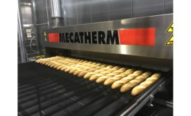 MECATHERM baguette production line
