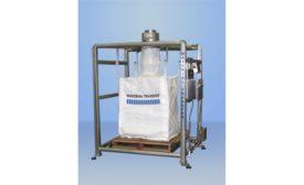 Material Transfer SANITARY STAINLESS STEEL BULK BAG FILLING SYSTEM