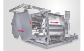 Gericke unveils 2019 line of hygienic batch mixers