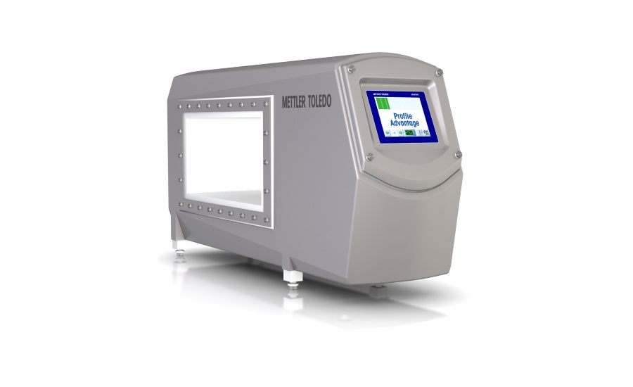 METTLER TOLEDO's Profile Advantage Metal Detector Inspects Products  Using Multi-simultaneous Frequency Technology to Reduce False Rejects