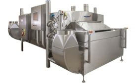 Messer cross-flow tunnel freezer