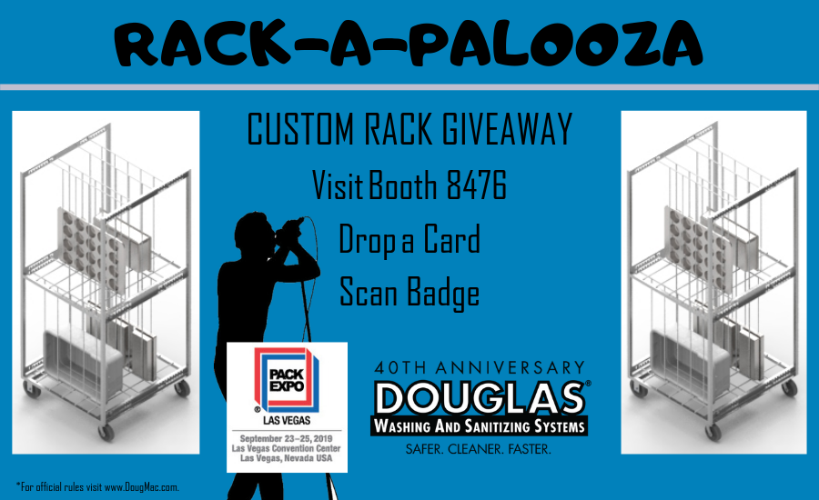 Douglas Machine Corp. RACK-A-PALOOZA