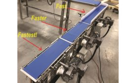 "Confectionary Conveyor ""Pulls a Gap"" by Multi-Conveyor"
