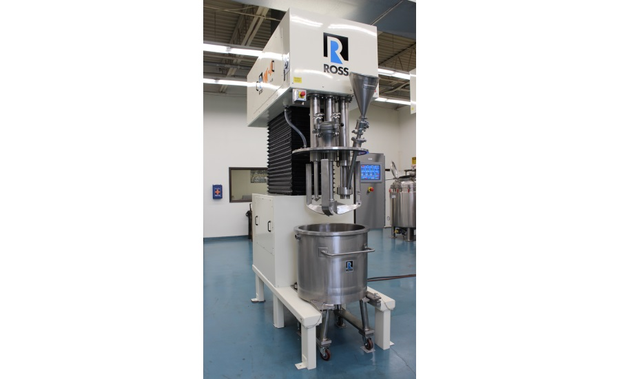 ROSS  Multi-Shaft Mixers for high-quality gels and creams