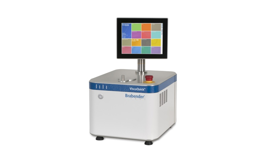 New universal viscometer offered by Brabender
