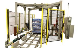 Orion high-speed/high-performance pallet wrapper