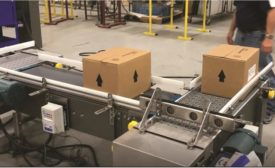Multi-Conveyor passive transfers facilitates multiple side case printing