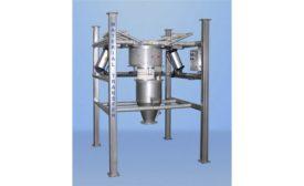 Material Transfer hazardous location stainless steel Material Master bulk bag discharging system