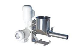 Gericke bulk material feeding system
