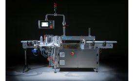 Accraply Sirius MK6 compact pressure-sensitive labeler