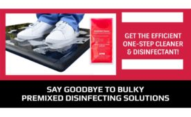 Wearwell PortionPac line of sanitizing footbath mats
