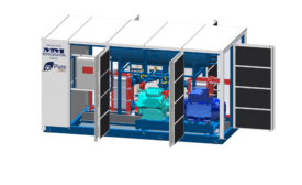 M&M Carnot Refrigeration PureChill low charge packaged ammonia chillers