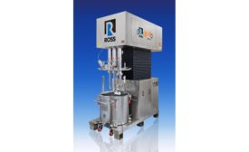 ROSS triple shaft mixers for hygienic processes