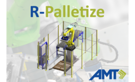 Applied Manufacturing Technologies releases R-Palletize, a configurable robotic palletizing station