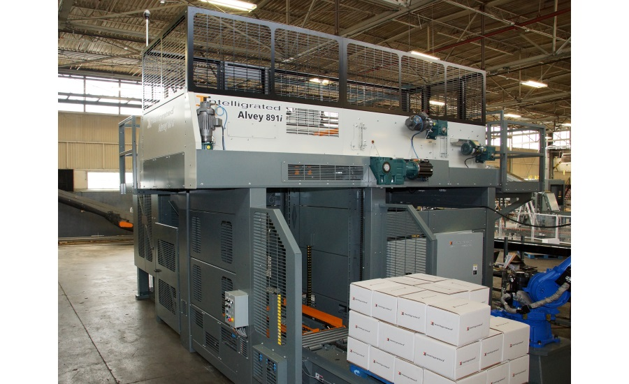 Alvey palletizer