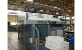 Intelligrated Alvey palletizer