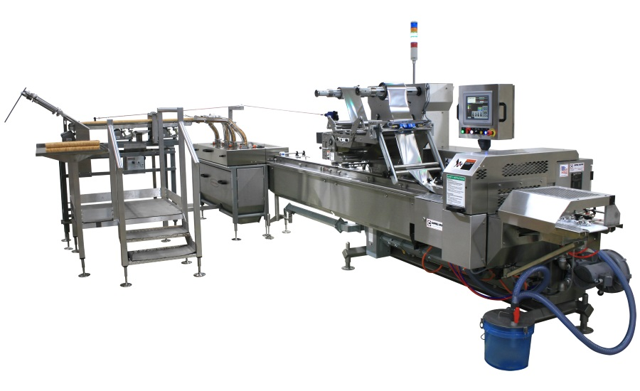 Campbell revolution flow wrapper and disk feeder