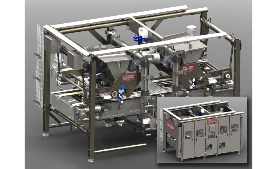 Hinds-Bock mini products depositing system