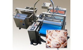 Hinds-Bock hot print icer, for cinnamon rolls