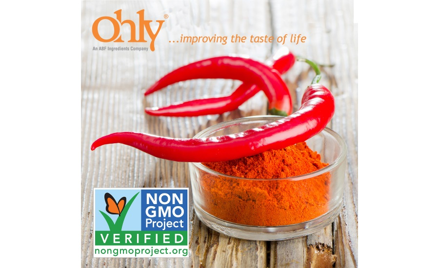 Ohly Non-GMO Project Verified PRODRY ingredients