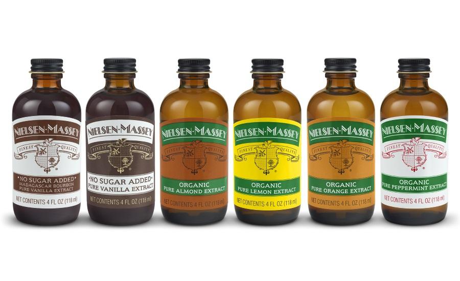 Nielsen-Massey Vanillas Organic Pure Flavor Extracts and No Sugar