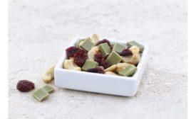 HERZA Schakolade vegan white chocolate bits
