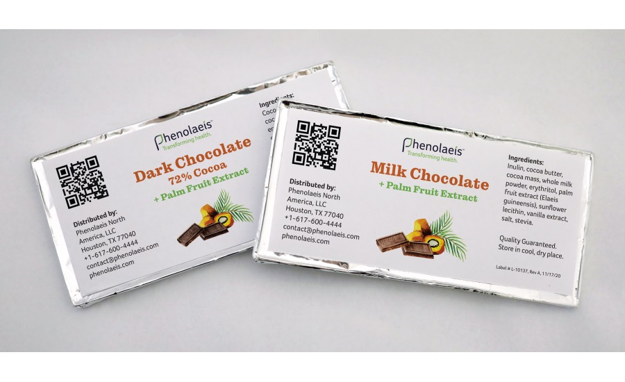 Phenolaeis functional dark chocolate