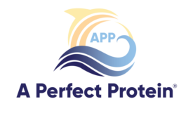 Ocean-based super protein, A Perfect Protein logo