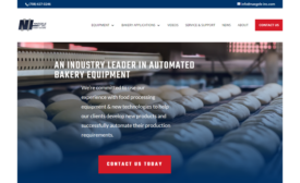 Naegele Inc. Bakery Systems Launches New Website with Enhanced Functionality, Expert Content
