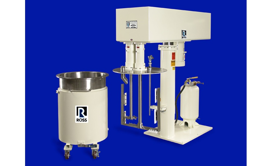 Ross dual-shaft mixers
