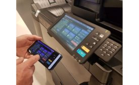 Toshiba introduces touch-free app for multifunction printers