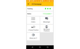 CX North America mobile app