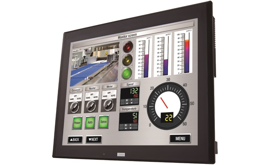 IDEC human machine interface touchscreen