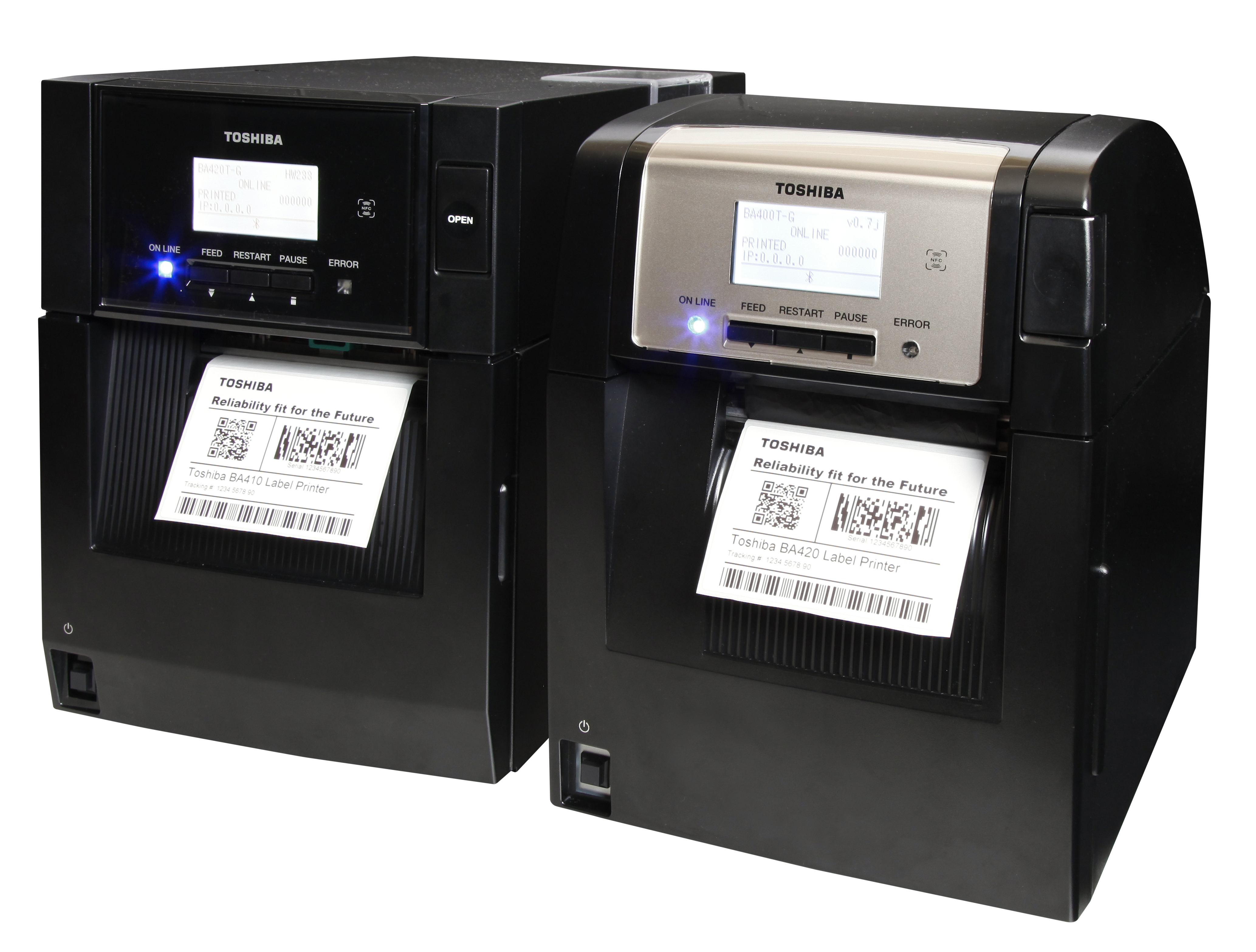 New Midrange, Industrial Toshiba Printers Accelerate and Simplify Labeling